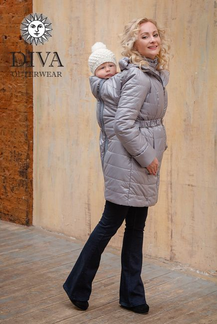 4 in 1 Babywearing Winter Coat with a front and back carry option is perfect for cold climates like in Canada. Enjoy free shipping in Canada and worldwide!