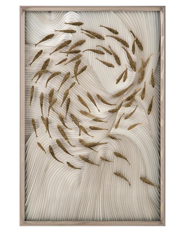 Pin By Kristi Geggie On نمونه و الگو Fish Wall Art Art Wall Art