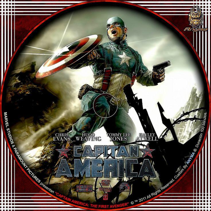 capitan america V2   por Anyma 2000
