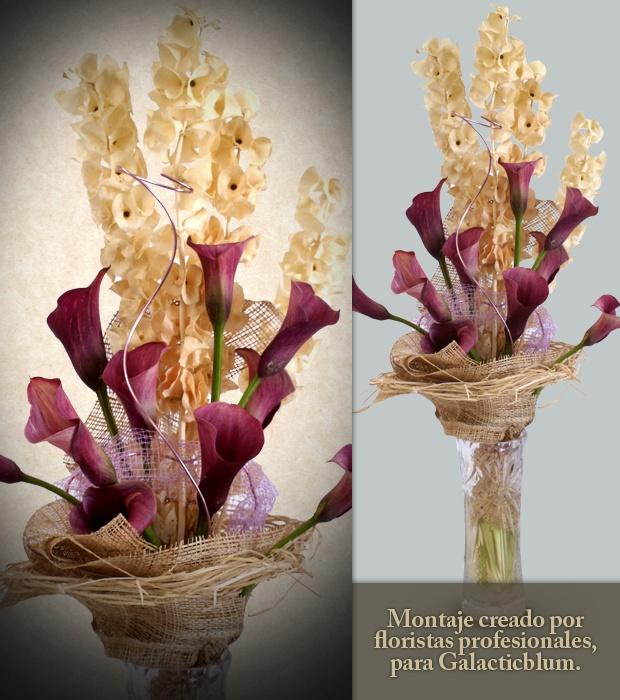 Mejores 15 im genes de arte floral con galacticblum en - Arreglos florales con flores secas ...
