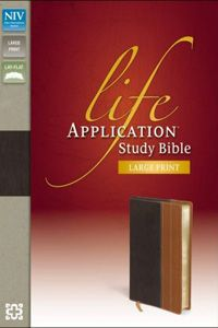NIV Life Application Study Bible - Large Print Chocolate and Brown $84.99 http://www.celebrateyourfaith.com/NIV-Life-Application-Study-Bible--45-Large-Print-Chocolate-and-Brown-P5877C528.cfm