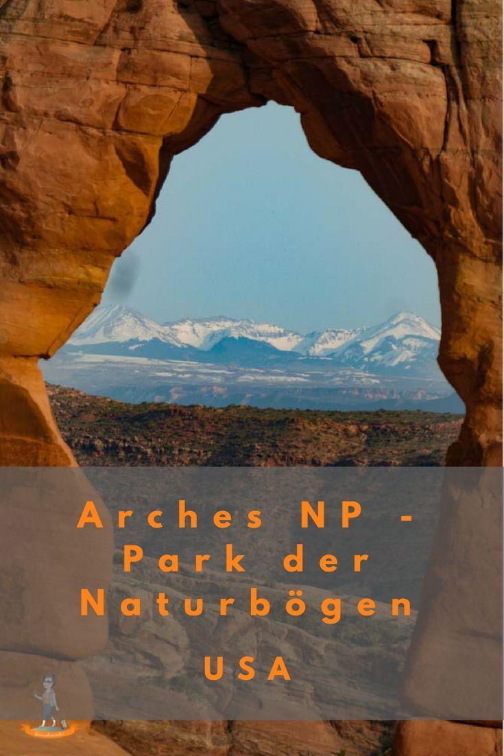 Der Arches Nationalpark – der Park der Naturbögen Reisetipp Roadtrip Wanderung