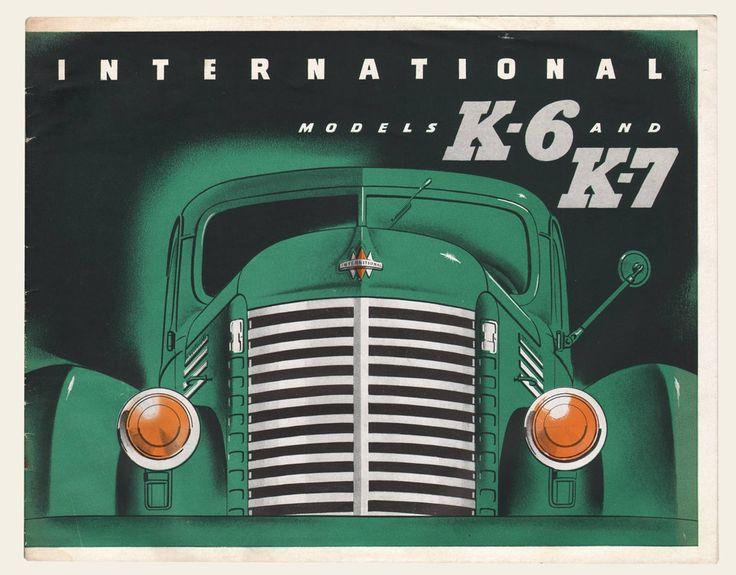1945 International Harvester Trucks Brochure | OldBrochures.com