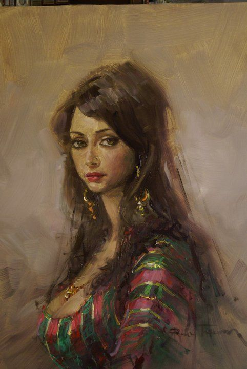 Gypsy Woman Painting 17 Best images about R...