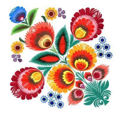 "Polish Folk Art   National Polish folk-art paper cut-outs known as ""wycinanki."""