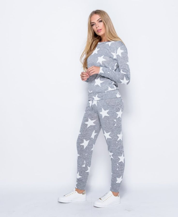 Star Print Co-ord Loungewear Set