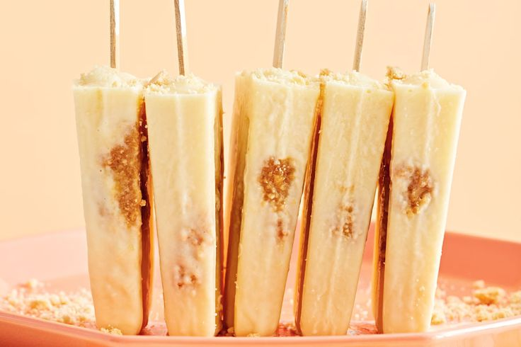 Butter Tart Ice Pops Quintessential Canadian Flavours