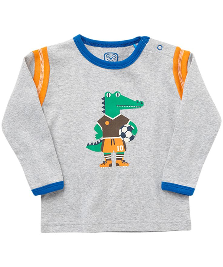 T-shirt crocodile 'fan de foot' par Ej Sikke Lej #emilea