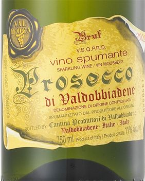Val D'Oca Prosecco Docg and Food Pairing