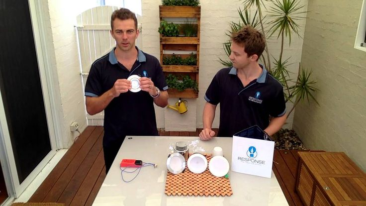 #Perth #Electricians Greg Allan & Kirk Neal from Response Fire & Electrical Services discuss the differences between the common halogen down light fitting and the benefits of upgrading to LED down lights. LED down lights are cheaper to run, safer, better for the environment, provide better light output and look better.