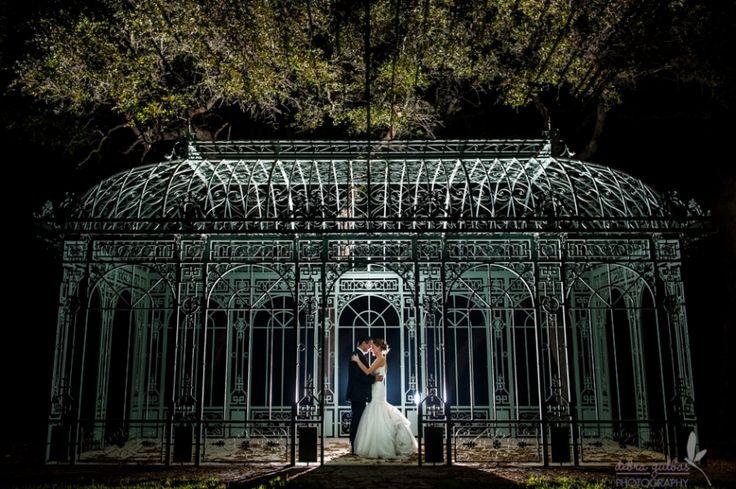 Ma Maison Wedding, nighttime portraits, romantic wedding portraits,