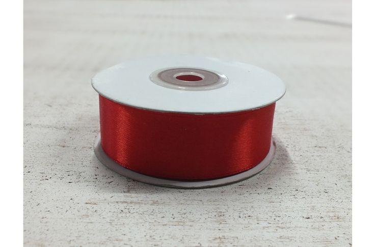 Szalag szatén piros - Szatén szalag - kosarbolt