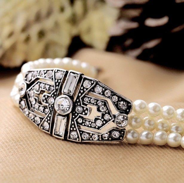 Triple Layer Pearl Bracelet