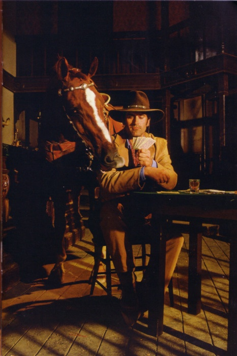 "I cannot even begin to express my love for Bruce Campbell. Watch ""The Adventures of Brisco County Jr."" You'll get it."