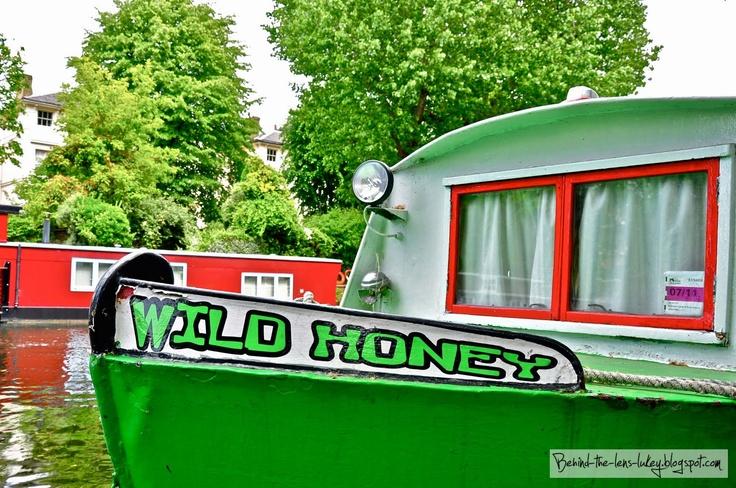 Wild Honey Via: Behind The Lens LukeyNice Pics, Wild Honey, Favorite Things, Favorite Places, London Canal, Lens Lukey