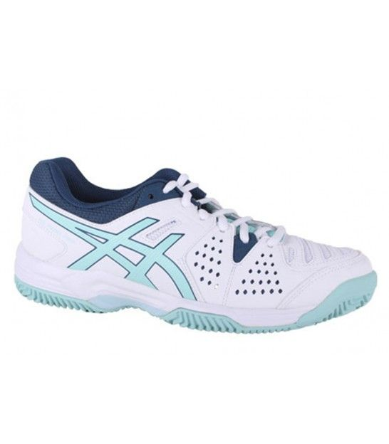 ASICS GEL PADEL PRO 3SG WHITE / POOL BLUE / BLUE STEEL