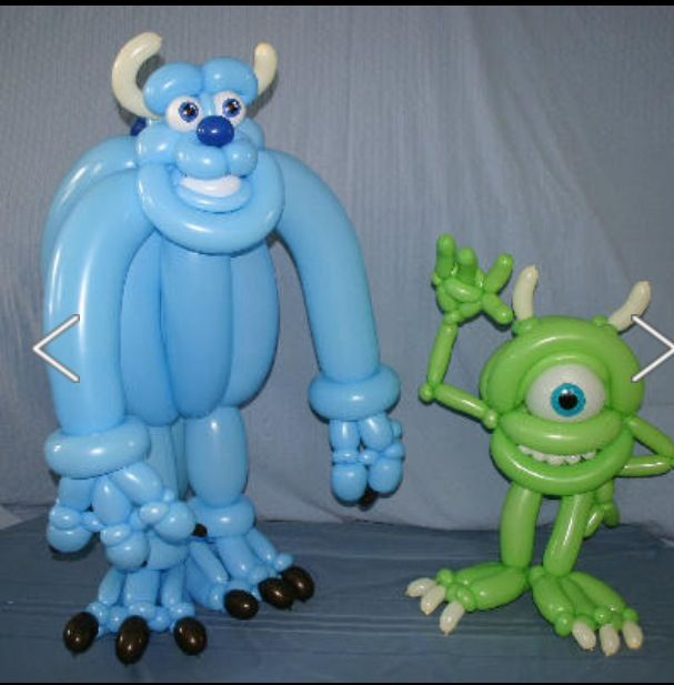 Monsters Inc. Twist Balloon