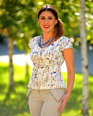 Colors of a spring blossom   Colors of Love - Audrey H. Blouse  2016trends loveColorsofLove occasionware streetstyle fashionable style trendy creative loveit ‎personalstyling 0722522775PersonalStyling‬ designer madetomesure slowfashion slowliving office special occasion leisure streetstyle