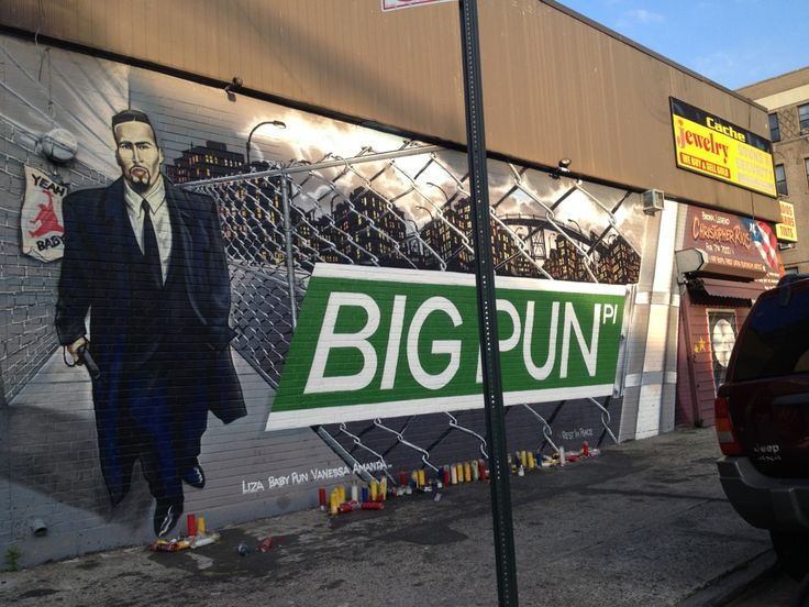 Big pun memorial mural in bronx ny the birth place of for Big pun mural bronx