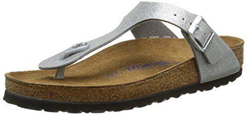 Birkenstock  Gizeh,  Damen Durchgängies Plateau Sandalen , Silber - Silver (Magic Galaxy Silver) - Größe: 42 - http://on-line-kaufen.de/birkenstock/42-eu-birkenstock-gizeh-damen-sandalen-4
