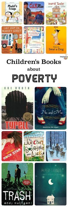 Help kids build empathy with this list of children's books about poverty.