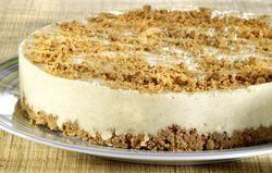 Recept: Speculaastaart (bloemsuiker = poedersuiker) #Sinterklaas #recept #speculaas