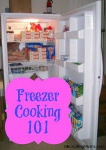 Everything you need to know to get started freezer cooking!  A must pin!