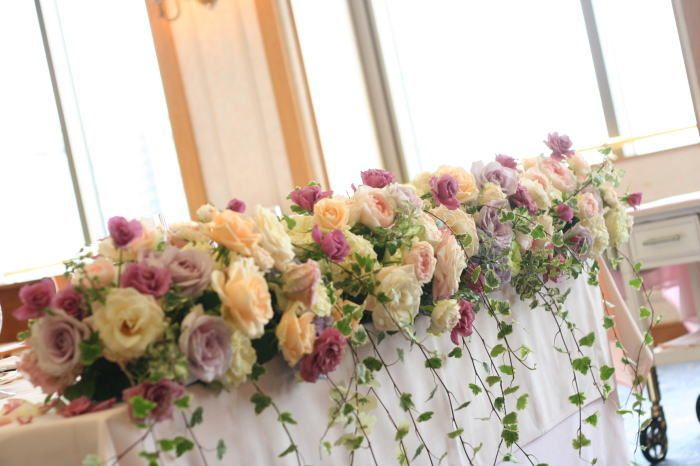 司法書士様のブログの画像:一会 ウエディングの花