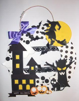 cartoncino mio: Ghirlanda di Halloween