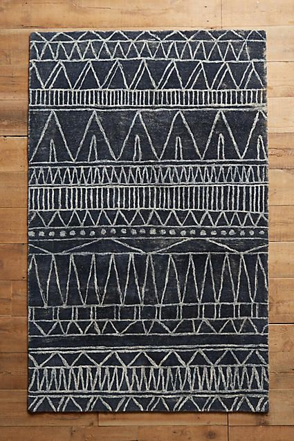Great mix of modern + traditional Marmotinto Rug