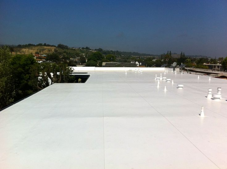 Www Chandlersroofing Com This Was An 80 Mil Ib Roof Syste