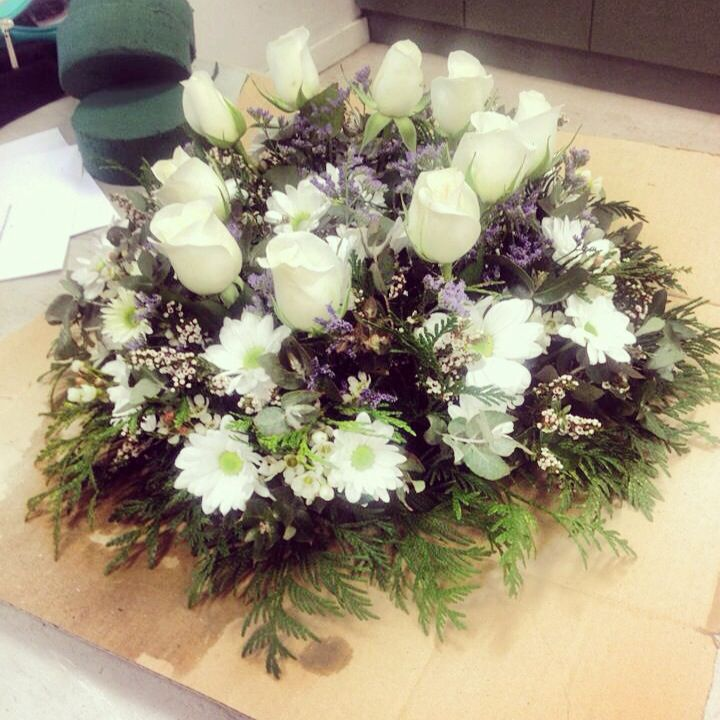 One of the first wreaths I made back in the day
