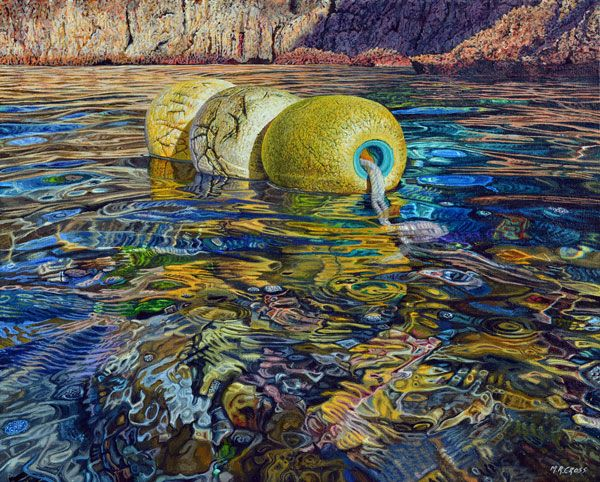 Mark Cross - New Zealand Born contemporary realist artist