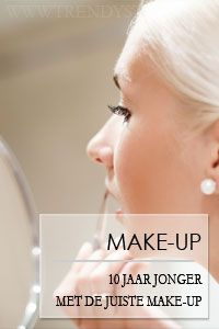 Make-up voor de rijpe / oudere huid 10 jaar jonger met deze make-up tips  Rijpe huid opmaken. Make-tips voor de oudere huid - Trendystyle, de trendy vrouwensite