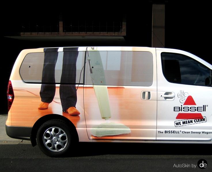 #HyundaiIload #Bissell #AutoSkin #VanWrap #VehicleAdvertising
