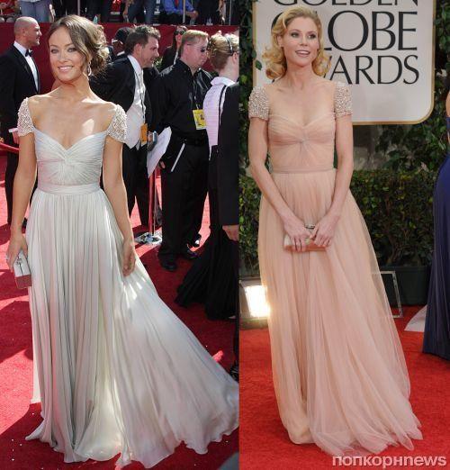 Оливия уайлд в платье