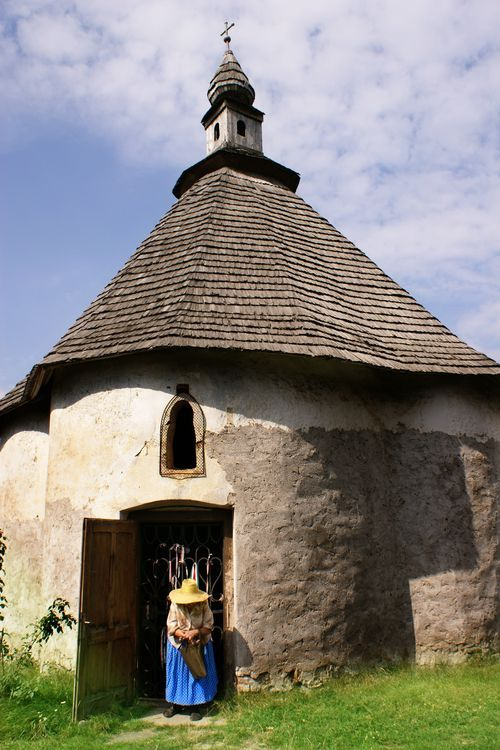 The Chapel of Jesus-one of the oldest architectural monuments of Székelyudvarhely, Transylvania. Construction dates back to the early 13th century.