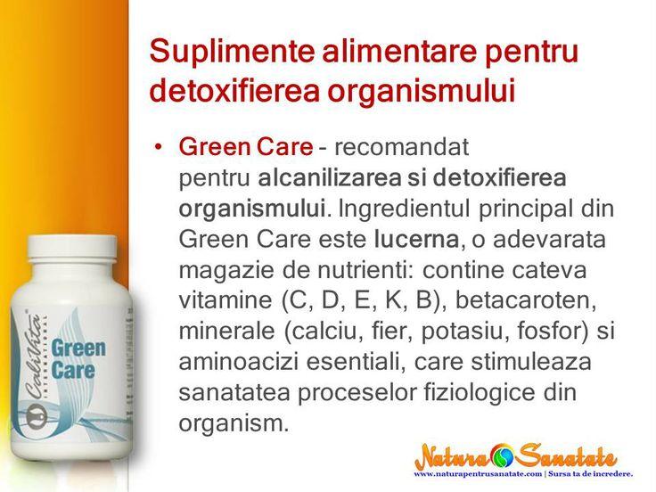 #GreenCare - extract de #lucerna. Perfect pentru #alcalinizare si #detoxifiere. #calivita
