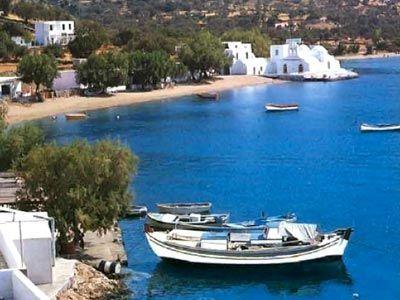 Sifnos, Vathi beach (Greece)