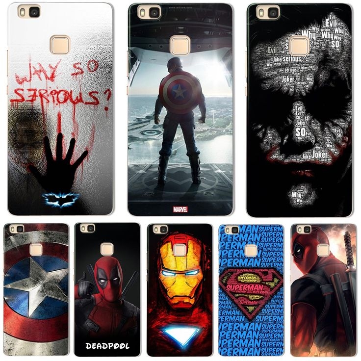 For P9 Lite Case Cute Suicide Squad The Avengers Cover for Fundas Huawei P9 Lite Case 2017 new arrivals coque for Ascend P9 Lite