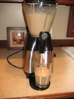 How to make homemade iced mocha or caramel coffee Frappuccinos - Starbucks copycat recipe