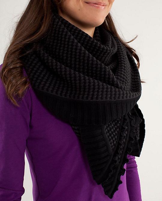 peace of mind lululemon scarf
