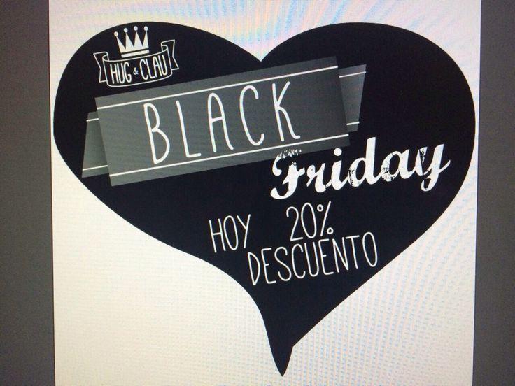 ... Siempre habrá un #mañana ...   Y por eso, porque nuestro mañana es viernes, os damos la buena #noticia por adelantado.   Por si alguna está despistada, el Black Friday se ha instalado en Madrid directo desde Nueva York. Por eso, en Hug & Clau, nos sumamos a este día... negro con un 20% de descuento en nuestras prendas durante el viernes 28 de noviembre.   Feliz jueves, víspera de... Black Friday   #CCIslazul #CCTresAguas #CCH2O #BlackFriday #ViernesNegro #Descuentos #NuevaYork