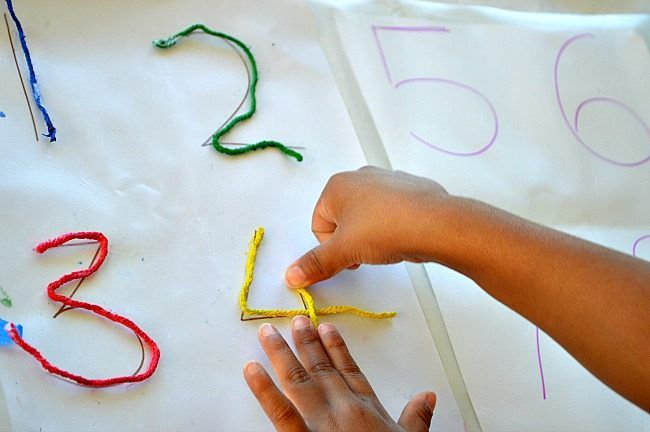25 Best Ideas About Number Crafts On Pinterest