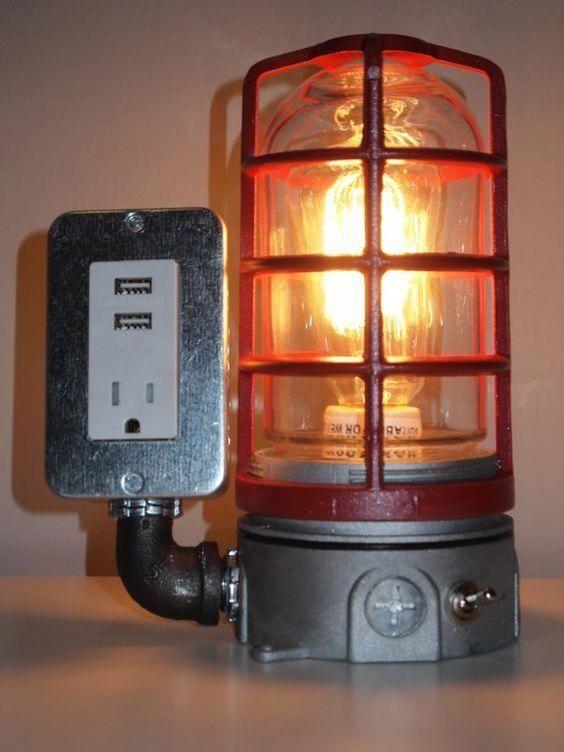 Verkabelung der Rohrlampe #Rohrlampe