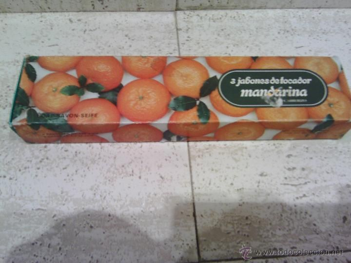 estuche de jabon  mandarina cabreriza  ariza  zaragoza