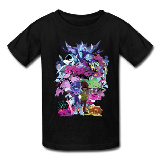 Deltarune Adventure Kids Unisex T-Shirts Clothing