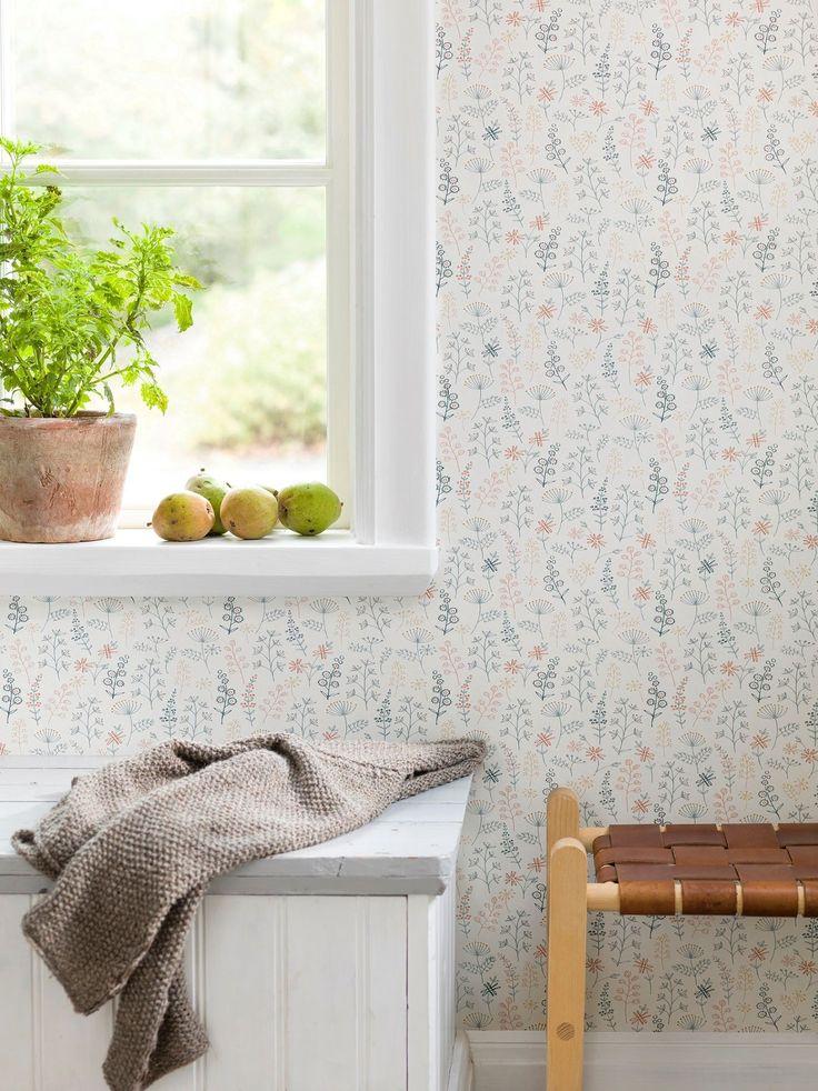 Scandinavian designed wallpaper with great value.