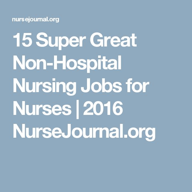 The 25+ best Jobs for nurses ideas on Pinterest Student nurse - director of nursing job description