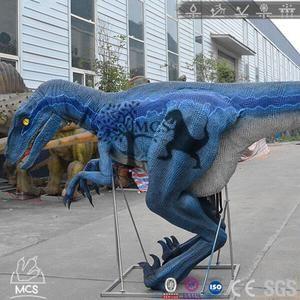 Walking Dinosaur Suit Raptor Blue Costume-DCRP700 – Mcsdinosaur